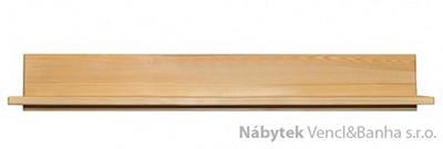 dřevěná závěsná polička z masivního dřeva borovice PK152 pacyg