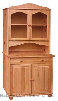 dřevěný kredenc stylový z masivního dřeva borovice drewfilip 8