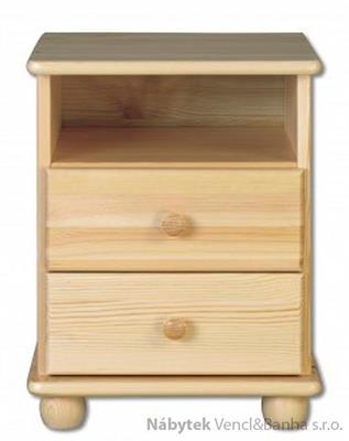 dřevěný noční stolek z masivního dřeva borovice SN105 pacyg