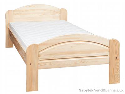 dřevěná jednolůžková postel z masivního dřeva L1 jandr