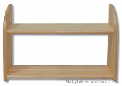 dřevěná závěsná polička z masivního dřeva borovice PK109 pacyg