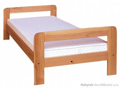 dřevěná jednolůžková postel z masivního dřeva drewfilip 1 ażurowe D