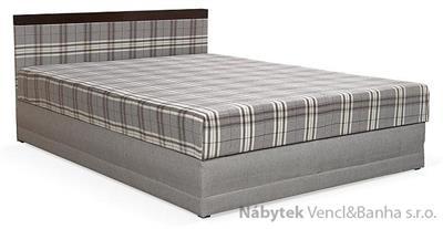 čalouněná dvojlůžková postel Loze L 130