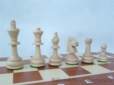 dřevěné šachy turnajové TOURNAMENT4 95 mad