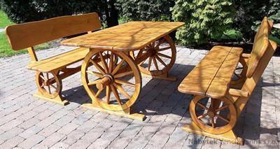dřevěný zahradní nábytek Kutscho