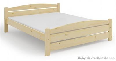 dřevěná dvoulůžková postel Kasia maršal
