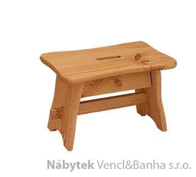 dřevěná dětská stolička z masivního dřeva borovice drewfilip 15šupl