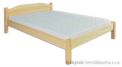 dřevěná dvojlůžková postel z masivního dřeva LK106