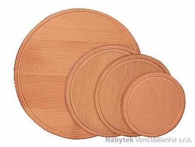 dřevěné kuchyňské prkénko na krájení, krájecí deska 36 drewfilip
