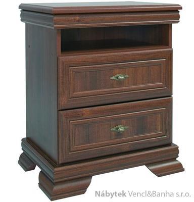 stylový noční stolek z dřevotřísky Kora KSN gala