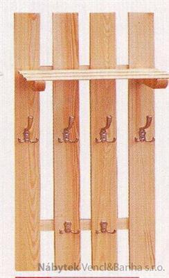 dřevěný závěsný věšák z masivního dřeva drewfilip 9