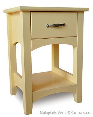 dřevěný noční stolek Castello z masivního dřeva borovice drewm cas-17