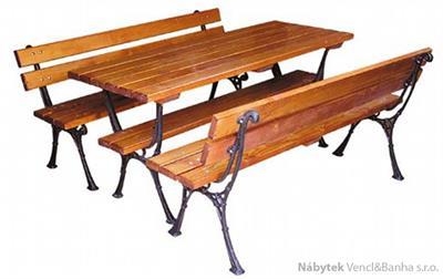 dřevěný zahradní nábytek Kowal 1+2 drewfilip 34