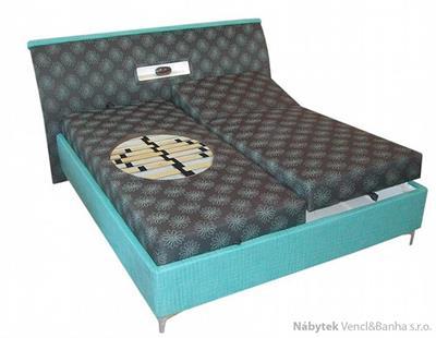 dvoulůžková čalouněná postel Palermo typ B Polach
