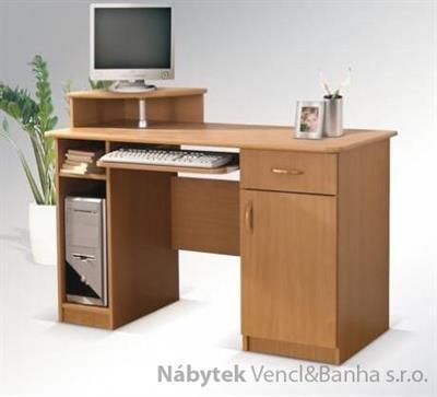 moderní psací stolek PC z dřevotřísky Max bez nádstavce maride