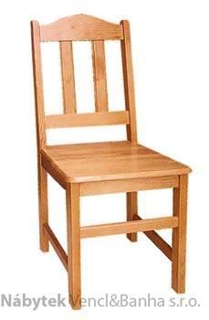 dřevěná jídelní židle z masivního dřeva borovice drewfilip 3