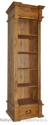 dřevěný stylový regál D11 1/2 euromeb