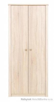 moderní šatní skříň z dřevotřísky Finezja F2 maride