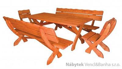 dřevěný zahradní nábytek MO104 pacyg
