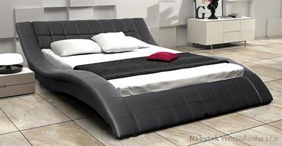 dvoulůžková čalouněná manželská postel Carlos 160 chojm