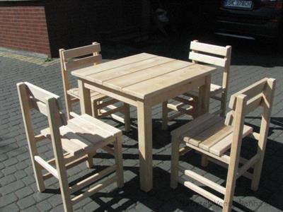 dřevěný zahradní nábytek vencl set 1+4 Tomek 1 botodre