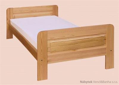 dřevěná jednolůžková postel z masivního dřeva drewfilip 2 pełne D