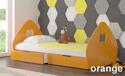 dětská dřevěná postel z masivního dřeva Balsa adrk