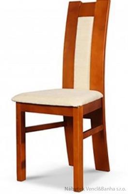 dřevěná jídelní židle z masivního dřeva R-47 chojm