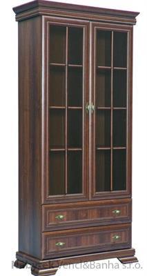 moderní vitrína z dřevotřísky Kora KRW2 gala