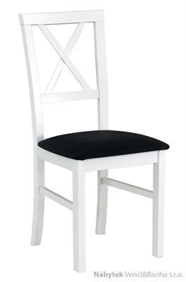dřevěná čalouněná jídelní židle z masivu Milano 4 drewmi