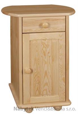 dřevěný noční stolek z masivního dřeva borovice 23 drewfilip