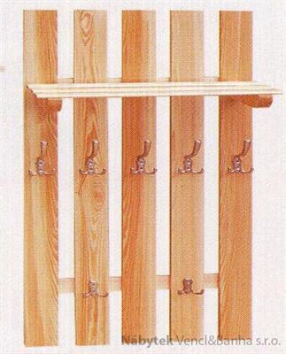 dřevěný závěsný věšák z masivního dřeva drewfilip 8