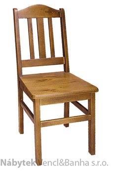 dřevěná jídelní židle z masivního dřeva borovice drewfilip P4