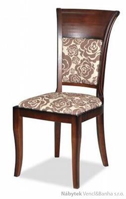 dřevěná jídelní židle z masivního dřeva R-82 chojm