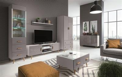 sektorový nábytek, obývací pokoj z dřevotřísky Brillo gala