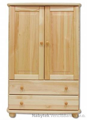 dřevěná komoda, prádelník z masivního dřeva borovice KD155 pacyg
