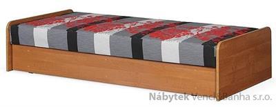 čalouněná jednolůžková postel, s úložným prostorem Loze W chojm