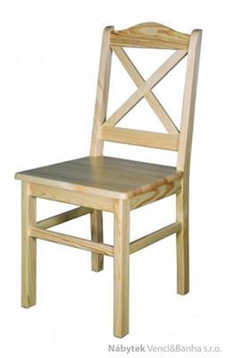 dřevěná jídelní borová židle z masivního dřeva borovice KT113 pacyg