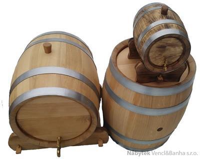dubový soudek na alkohol 100 litrový