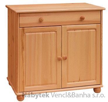 dřevěná kuchyňská skříňka dolní z masivního dřeva borovice drewfilip 12