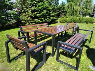 dřevěný, kovový zahradní nábytek Bogdan