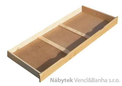 dřevěný úložný prostor, šuple pod postel 140x200 cm chalup