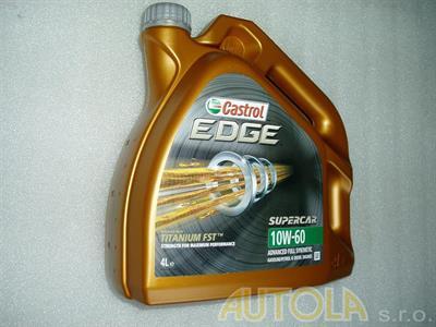 Motorový olej Castrol Titanium FST Supercar 10W-60 4 litry