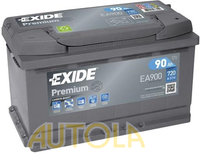 Autobaterie Exide Premium 12V, 90Ah, 720A