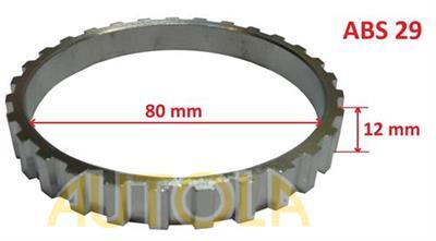Snímací kroužek ABS Peugeot 205, 306, 405