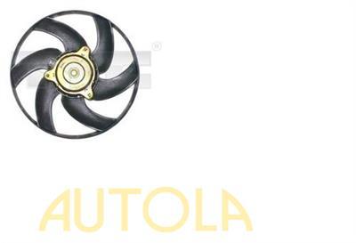 Větrák chlazení motoru Citroen Berlingo,Peugeot Partner 1,9D