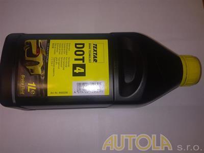 Brzdová kapalina DOT4 1 litr
