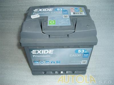 Autobaterie Exide Premium 12V, 53Ah, 540A