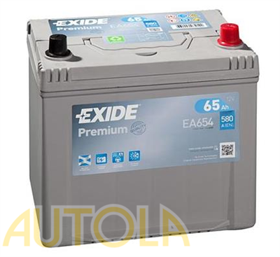 Autobaterie Exide Premium 12V, 65Ah, 580A