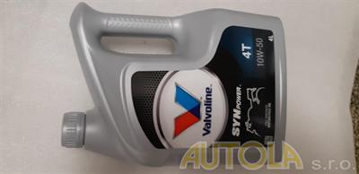 Motorový olej Valvoline 4T 10W-50 4 litry